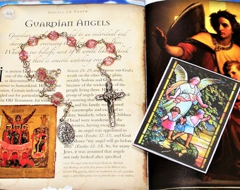 Unbreakable Traditional Catholic Guardian Angel Chaplet - Prayers Included