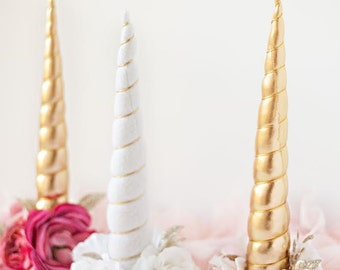 Unicorn  horn accessory rocking horse carousel horse pony clip photography prop in white blush pink or gold