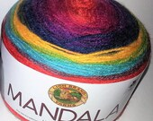 Mandala Yarn #213 WIZARD...One Cake...5 left...I have been informed no more till the end of summer.