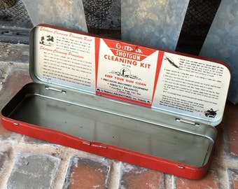 Vintage Shotgun Cleaner Kit Outers Gunslick