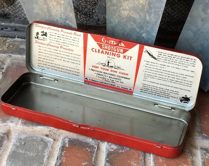 Vintage Shotgun Cleaner Kit Outers Gunslick