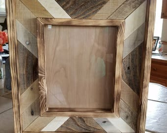 8 x 10 Rustic mix it up frame