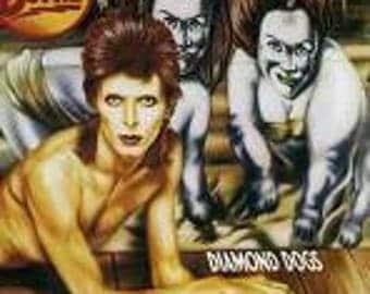 David Bowie Vinyl - Diamond Dogs - Original First Edition  - Vintage Record Lp in Excellent Condition