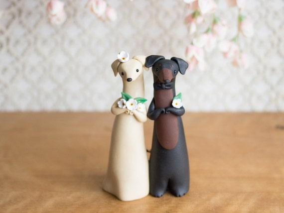 Dachshund Wedding Cake Topper By Bonjour Poupette