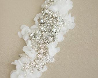 Crystal Wedding belt, Bridal belt, Crystal bridal belt, Wedding dress belts sashes, Lace crystal belt sash, rhinestone bridal belt
