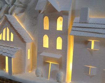 Night Light, Kids Room Art, Sculpture, Interesting Wall Decor, Housewarming Gift, Christmas gift for child, baby shower gift, French modern