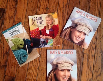 Learn to Knit Books Instruction Guides