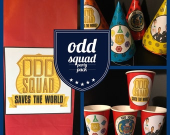 Odd Squad | Secret Agent Birthday Party PACK for 8