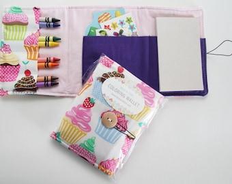 Crayon Wallets coloring wallets girl styles, drawing sets art kits