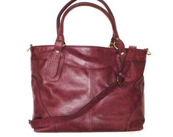 Leather Tote Bag, Leather Tote, Leather Handbag, Leather Cross-body Bag, Large Leather Bag, laptop bag, Leather bag, Shoulder bag, Nora Bis!