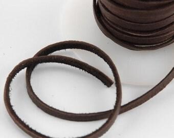 Chocolate Deerskin Spool