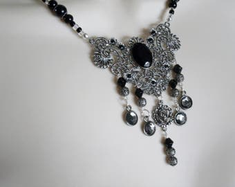 The Enchantress Necklace, gothic jewelry victorian jewelry renaissance jewelry art deco jewelry art nouveau edwardian tudor neo victorian