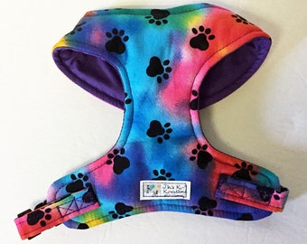 Paws Comfort Soft Dog Harness - Made to Order -