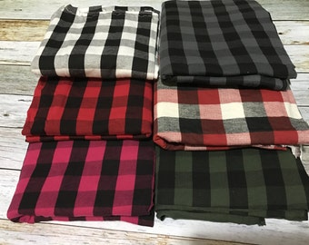 Buffalo Plaid Stretchy Car Seat Cover, Stretchy Nursing Cover, Plaid Carseat Canopy, Multi Use Cover