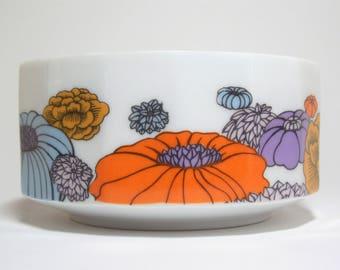 Rosenthal Studio Linie Germany Bowl Polygon Pattern Design by Alain Le Foll