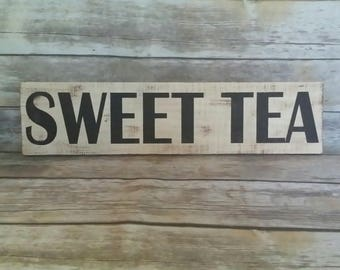 Sweet Tea Sign, Sweet Tea, Southern, the south, restaurant sign, deli sign, mississippi, alabama, georgia, texas, tennessee, Tea, kitchen