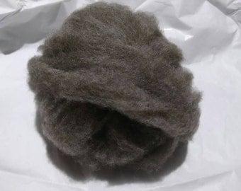 BFL / Blue Faced Leicester / Wool Roving / Felting Supplies / Spinning / Blending / Fiber / Natural Color  (612)