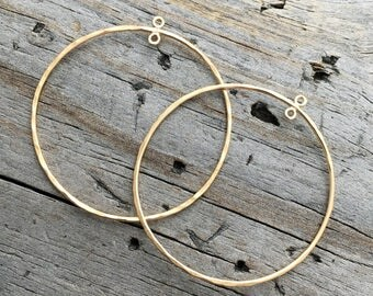 Gold Filled Hoop Chandelier Earring component Jewelry Supplies Hold Filled Chandelier Earring Component