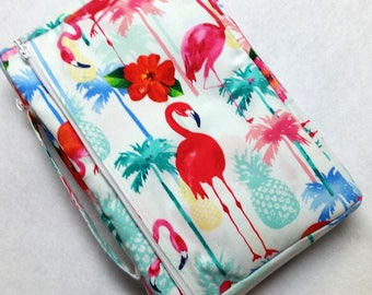 Bible Cover Custom Fit Flamingos