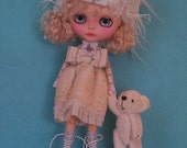 Romantic dress  for Blythe or Pullip
