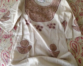 Lovely 60s Childrens Kaftan