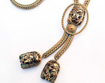 Vintage Asian Princess Lariat Style Necklace - Selro or Selini?