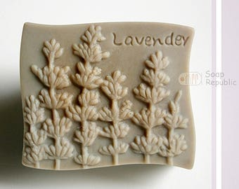 SoapRepublic Lavender Silicone Soap Mold