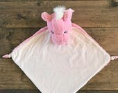 Pegasus blanket,1 day ship,,comes personalized,New x-large Lovey Pink Pegasus