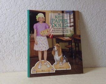 American Girl Paperdoll Book: Kit's Paper Dolls. Complete.