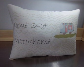 pillows for motorhome cotton throw pillow gift for parents new RV decor camper cushion  home sweet motorhome pillow camper home decor ideas