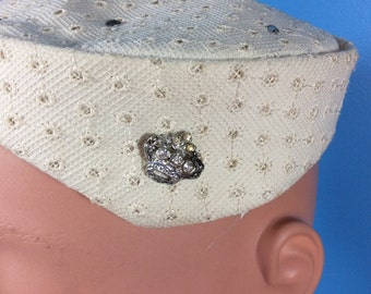 Vintage Jeweled Hat