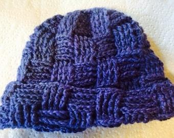 Alpaca Hat - Violet - Adult Size