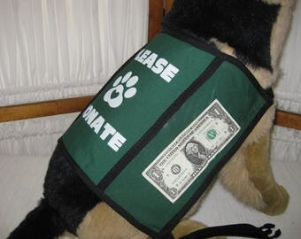 Dog Donation Vest - Large