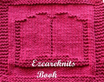 Knitting Cloth Pattern - BOOK - PDF