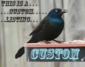 Custom order - Tie Bar