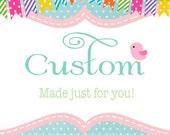 Custom Order for Sandra - Girls Summer Rainbow Party Dress Twirly Tiered Peasant Dress, Puff Sleeve, girls size 8
