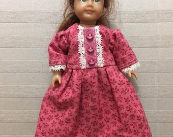 Mini AG doll historical dress