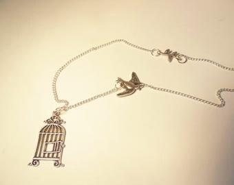 Birdcage Necklace