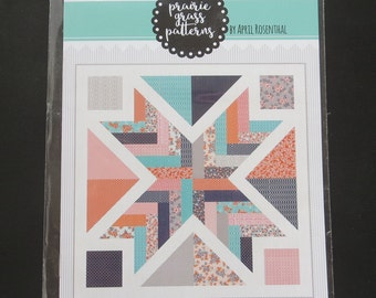 Starburst Quilt Pattern by April Rosenthal