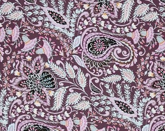 Ornate in Plum - ISABELLE - Dena Designs - Free Spirit Fabric - By the Yard