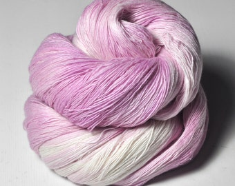 Barbie's dream house OOAK -  Merino/Cashmere Fine Lace Yarn