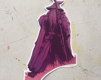 Gandalf sticker Lord of the RIngs waterproof