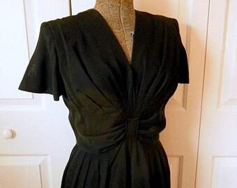 Vintage 50's little black Dress