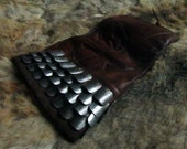 Mercenary's Scale Maille and Leather Gauntlet, for Reenactment, Larp, Sword Fighting