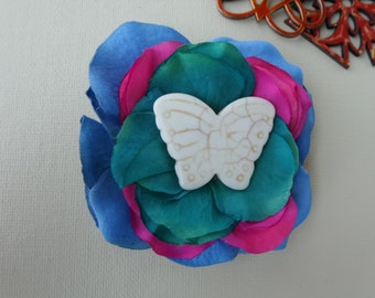Butterfly hair barrette~womans hair accessorie~hair clip~hair ties~hair pin~hair clip women~hair clip barrette~gift for her