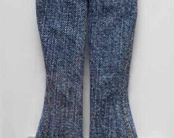 Bell-bottom jeans for Poppy Parker / Barbie Model Muse or Pivotal
