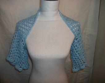 Crochet Shoulder Shrug (A43)