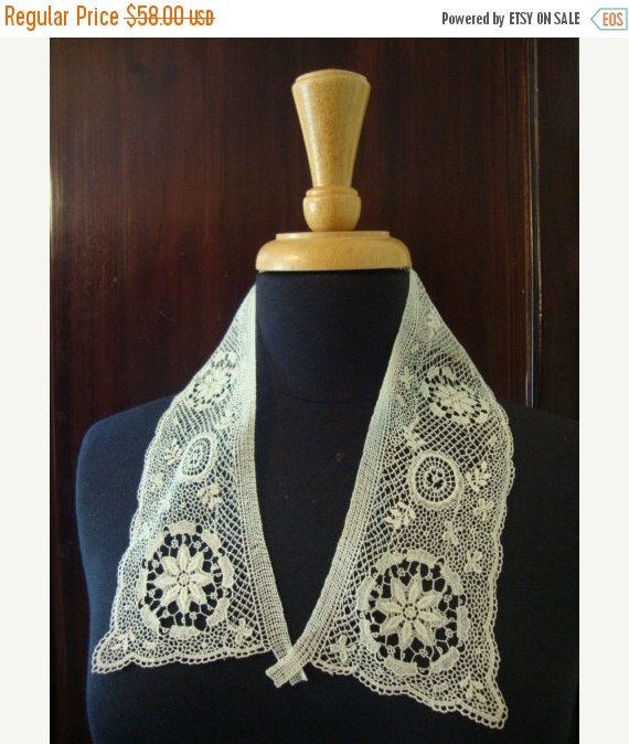2016 SALE Late 1800's Early 1900's Bedfodshire Lace By