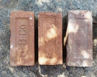 Three Antique Bricks