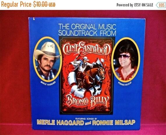 HALLOWEEN SALE BRONCO Billy - Soundtrack - 1980 Vintage Vinyl Gatefold Record Album...PROMOTIONal Copy